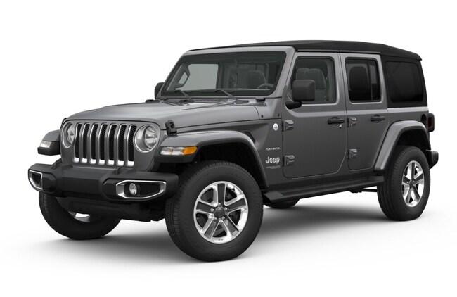 New 2018 Jeep Wrangler UNLIMITED SAHARA 4X4 Sport Utility Elmira, NY