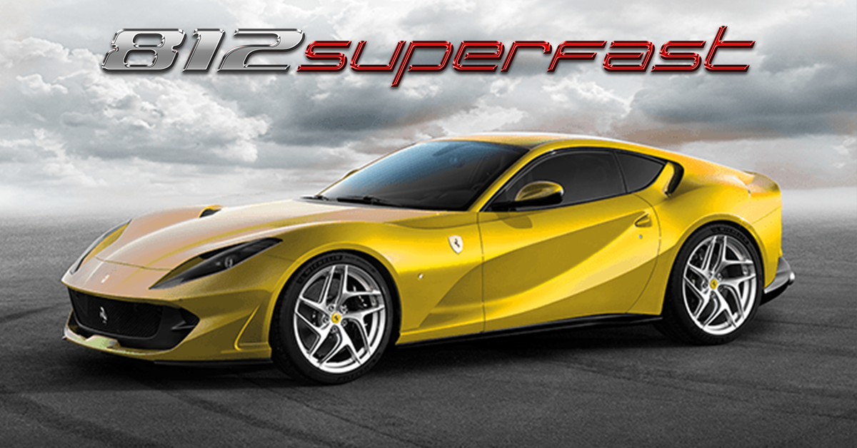 Private Premiere of the Ferrari 812superfast