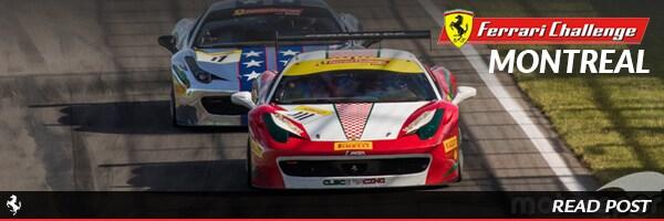 Ferrari Challenge Montreal Results