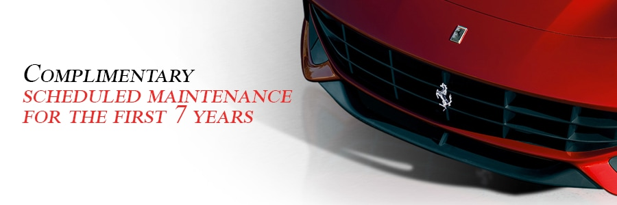 Ferrari 7 year maintenance service