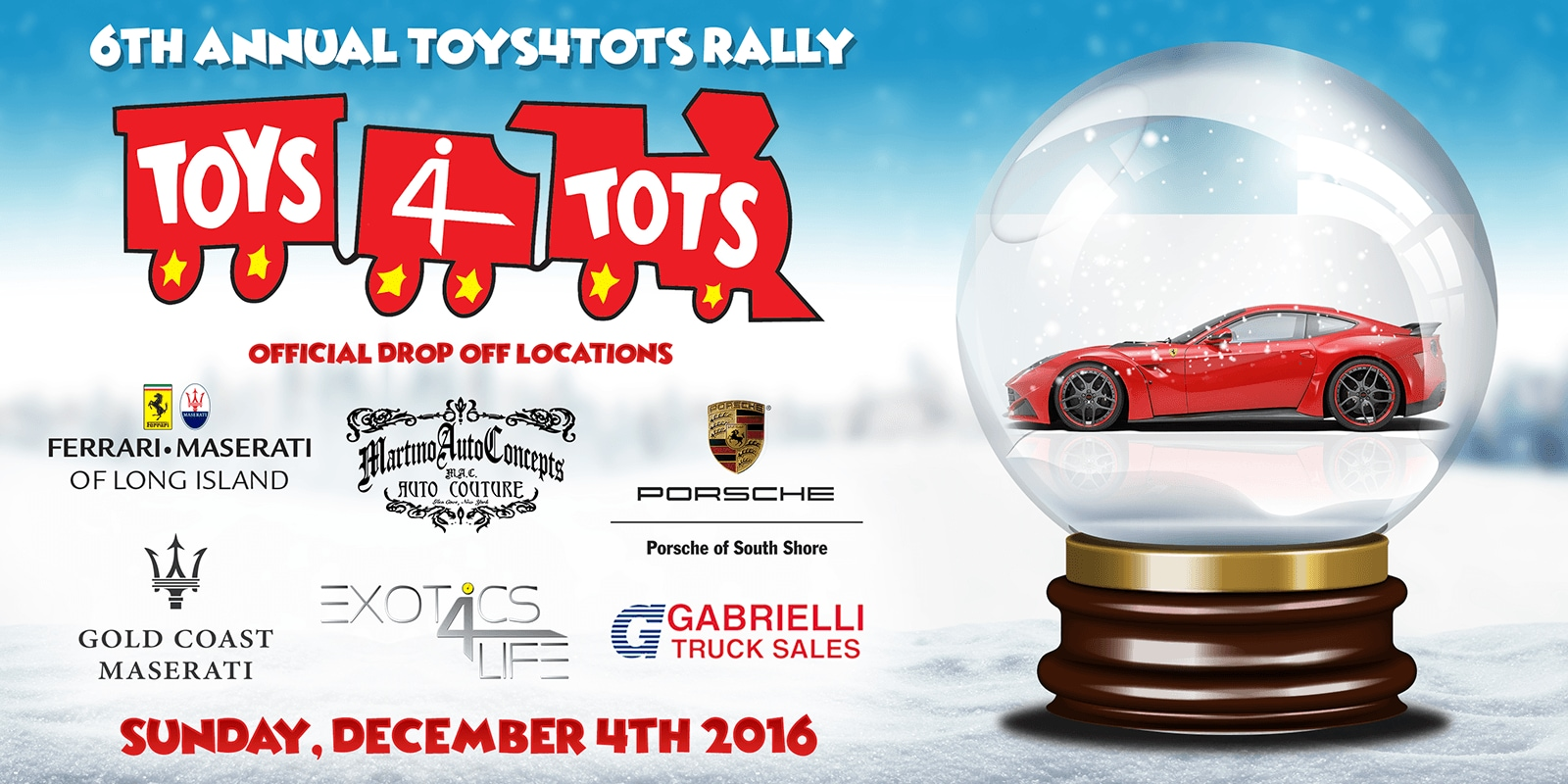 th Annual Totys4Tots in Long Island
