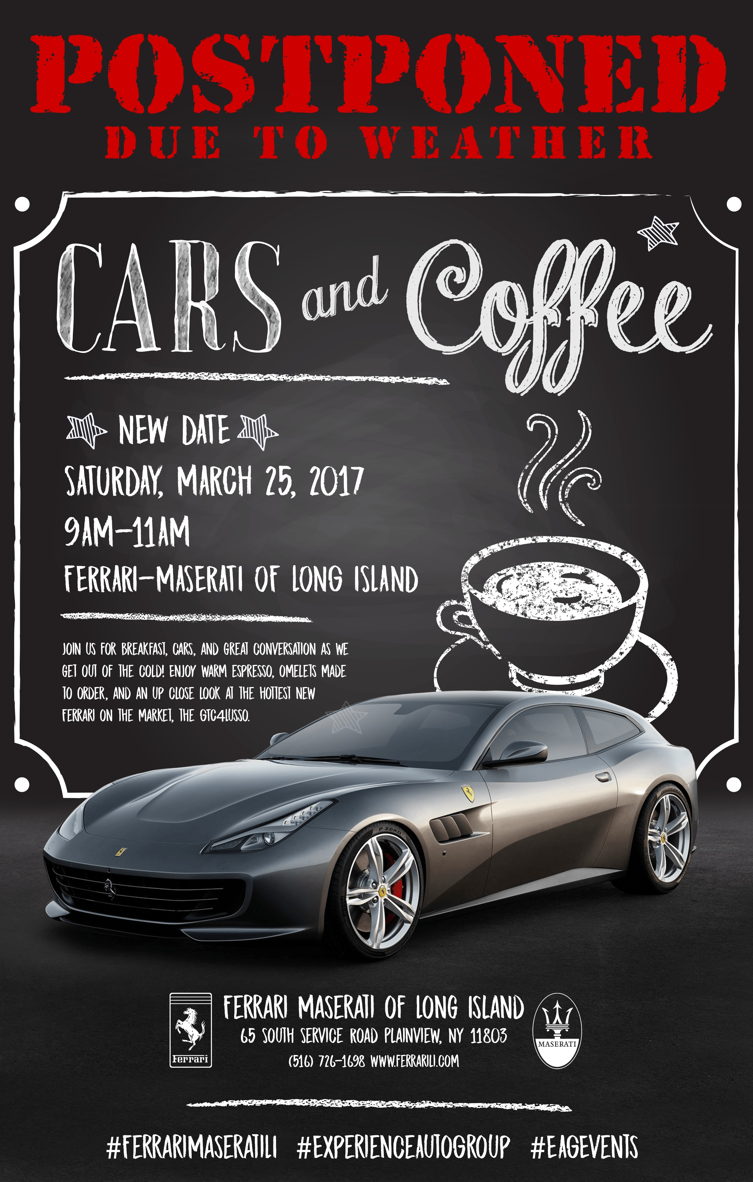Cars & Coffee March 11th 2017