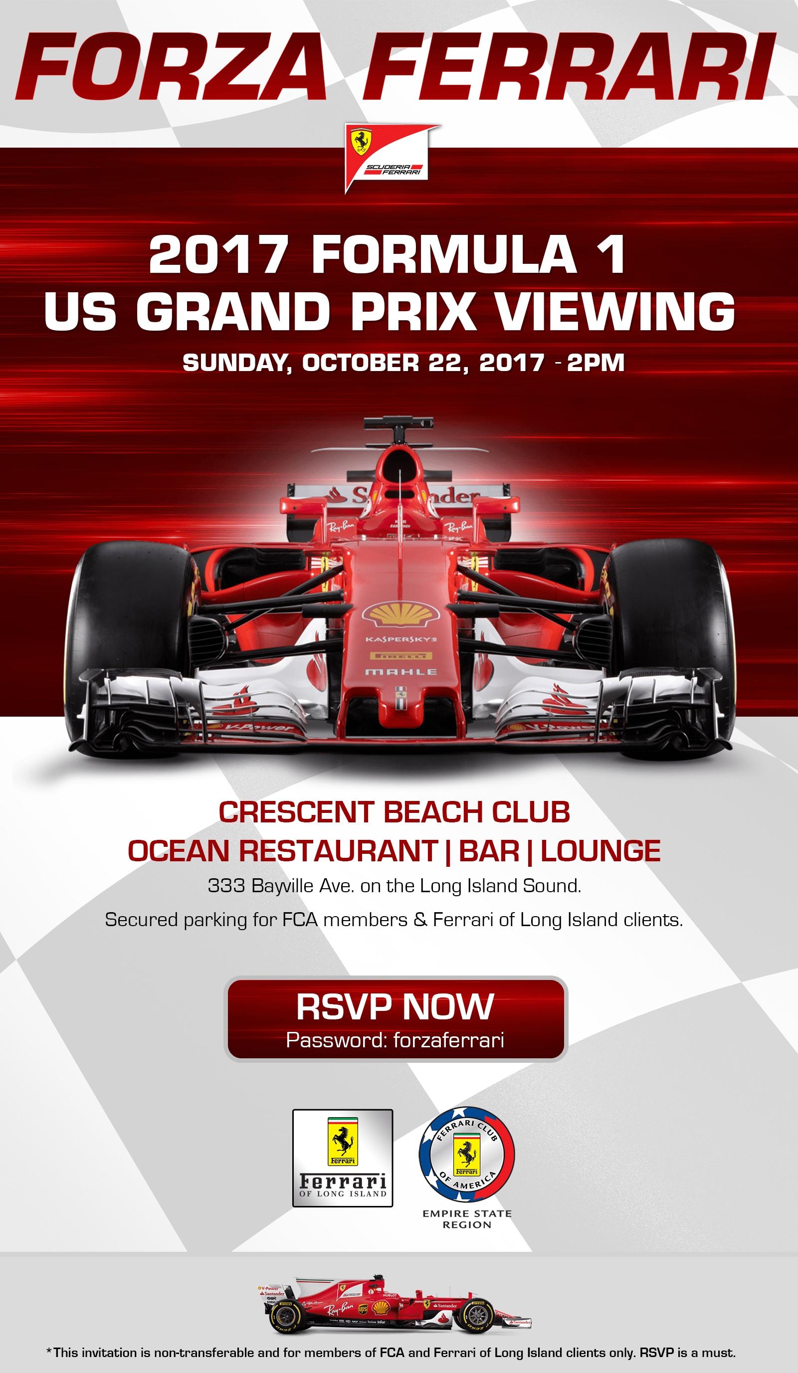 Ferrari Formula 1 Racing