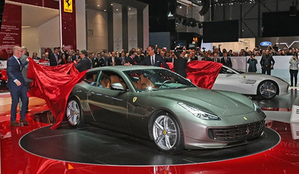 The Ferrari GTC4Lusso wows Geneva
