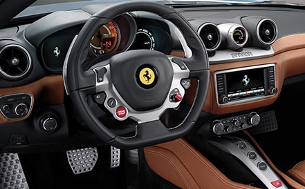 Ferrari California T Interior picture