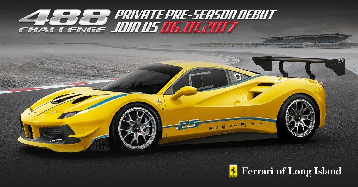 Ferrari 488 Challenge Private Pre-Season Debut
