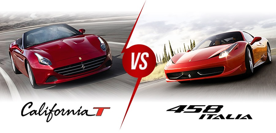 Ferrari California T vs 458 Italia Comparison
