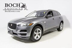 pre-owned luxury 2018 Jaguar F-PACE 35t Premium SUV for sale in Norwood, MA
