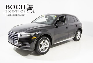 pre-owned luxury 2018 Audi Q5 2.0T Premium SUV for sale in Norwood, MA near Boston