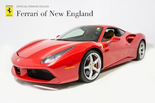 pre-owned luxury 2018 Ferrari 488 GTB Coupe for sale in Norwood, MA near Boston