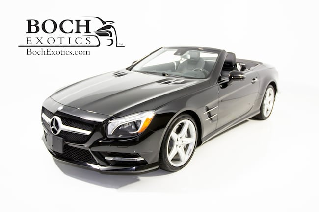 2015 Mercedes-Benz SL-Class SL 400 Roadster Convertible For Sale in Norwood, MA