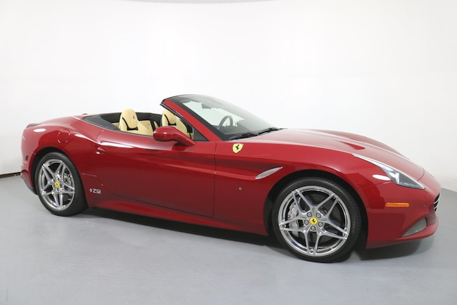 Pre-Owned 2018 Ferrari California T 70th Anniversary Edtion Convertible near San Francisco, CA