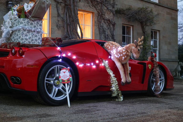 With Its Stripped Interior And Laughable Storage Compartments, The Ferrari  Enzo Might Not Seem Like The Best Tool For The Job. Then Again, Itu0027s Red,  ...