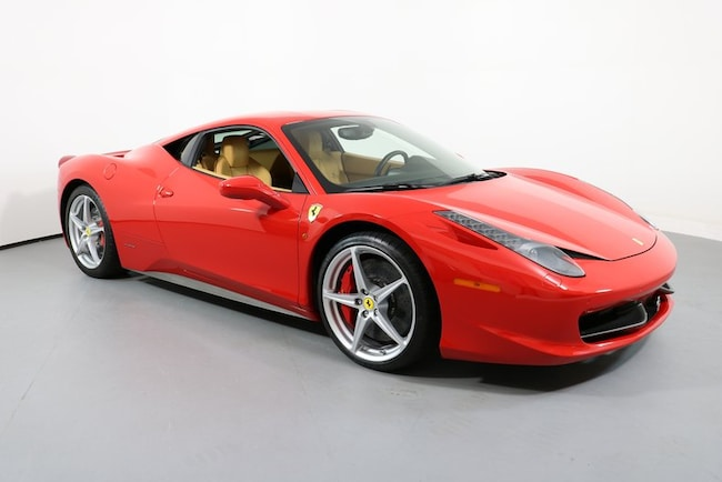 2011 Ferrari 458 Italia 2dr Cpe Coupe