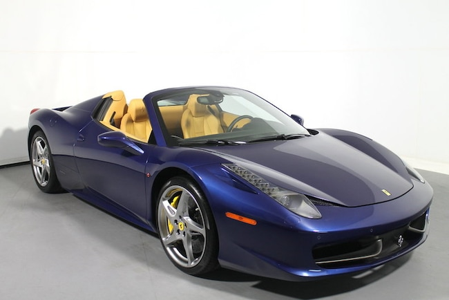 Pre-Owned 2012 Ferrari 458 Spider Convertible near San Francisco, CA