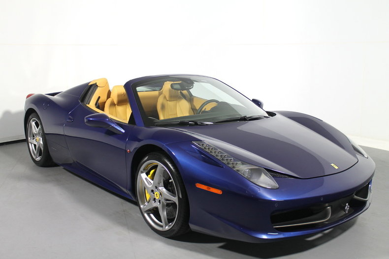 Marvelous Pre Owned 2012 Ferrari 458 Spider Convertible Near San Francisco, CA