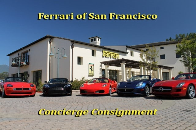 concierge consignment at ferrari of san francisco | ferrari of san