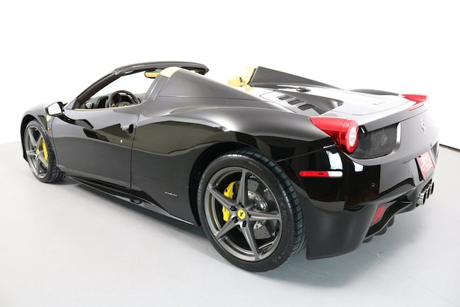 Used 2013 Ferrari 458 Spider San Francisco Ca Zff68nha0d0190273