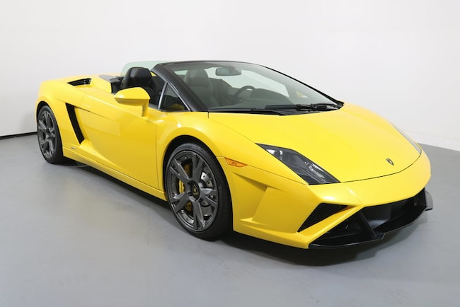 Pre Owned 2014 Lamborghini Gallardo 2dr Conv Lp560 4 Spyder For Sale
