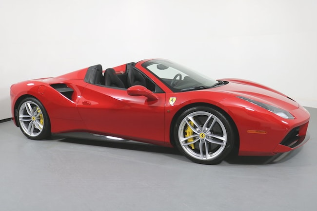 Pre-Owned 2017 Ferrari 488 Spider Convertible near San Francisco, CA