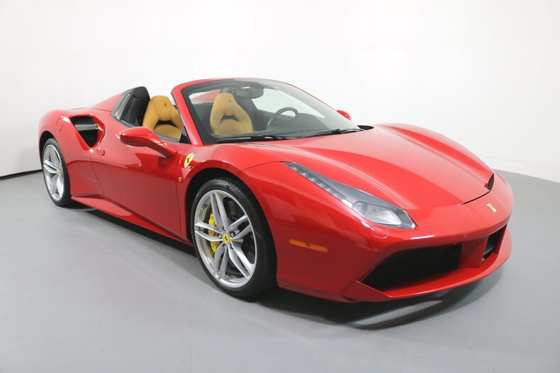 Used 2016 Ferrari 488 Spider San Francisco Ca Zff80ama7g0219268 Serving The Bay Area Mill Valley San Rafael Redwood City And Silicon Valley