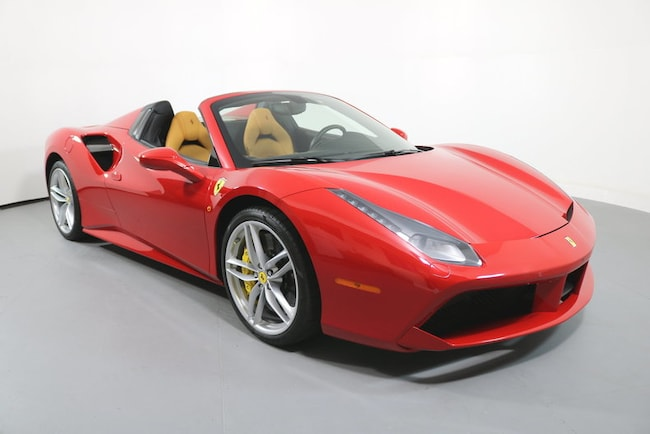 Pre-Owned 2016 Ferrari 488 Spider Convertible near San Francisco, CA