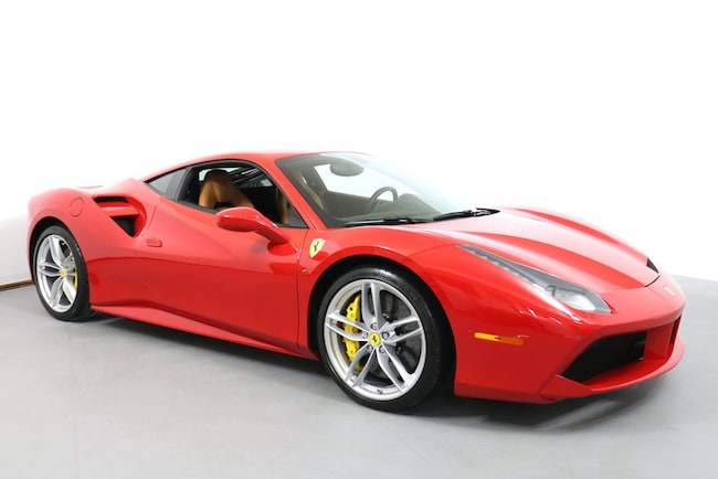 Pre-Owned 2016 Ferrari 488 GTB Coupe near San Francisco, CA