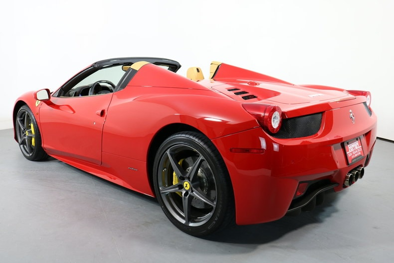 ... Pre Owned 2014 Ferrari 458 Spider Convertible Near San Francisco, CA ...