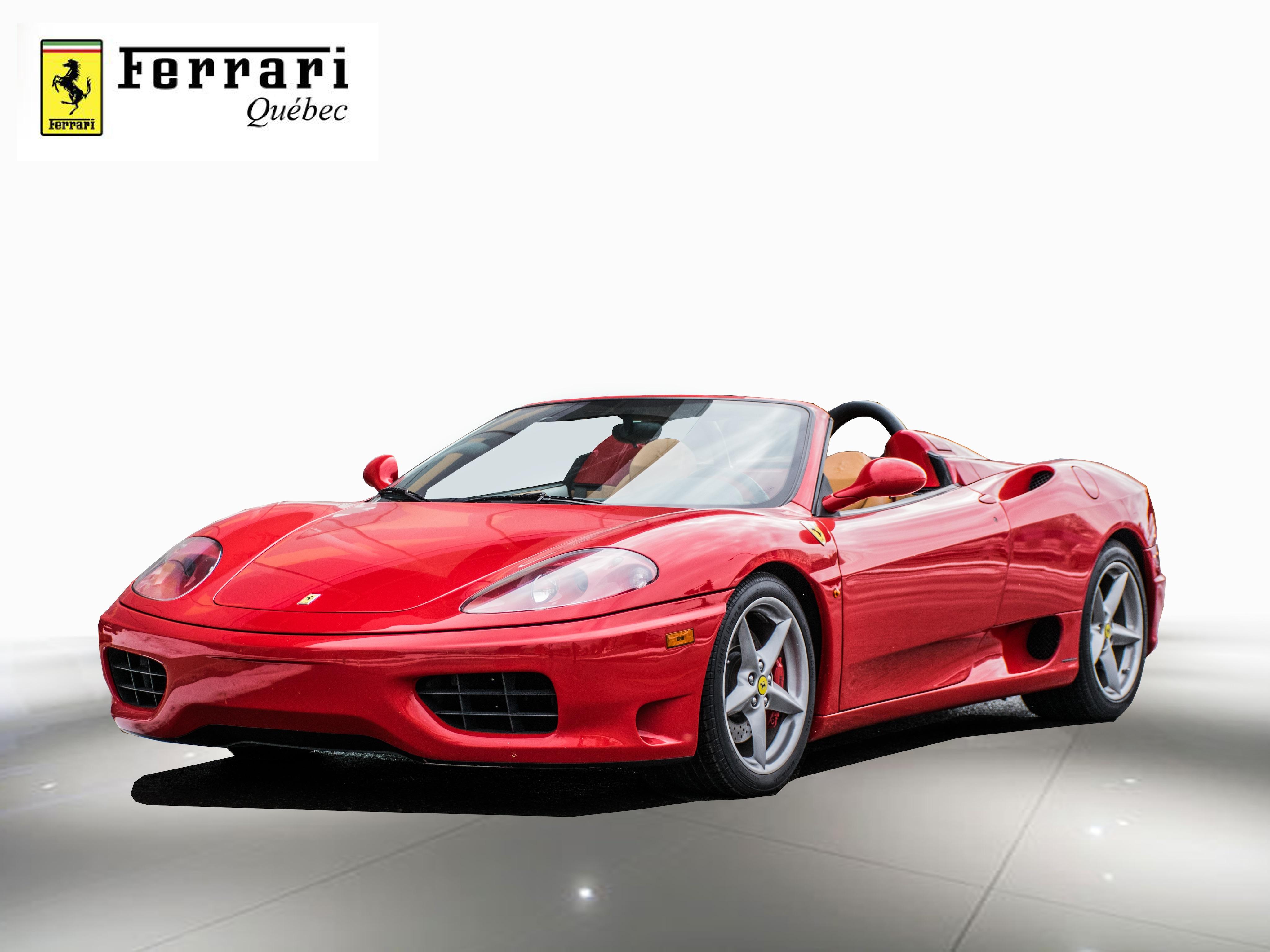 2001 Ferrari 360 Spider F1 Convertible