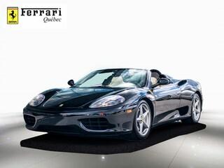 2002 Ferrari 360 Spider F1 Décapotable ou cabriolet