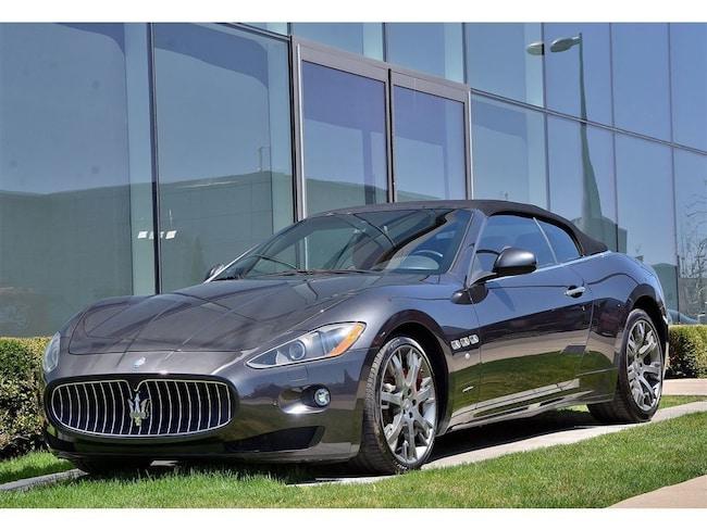 2012 Maserati GRANTURISMO CONVERTIBLE **S** Décapotable ou cabriolet