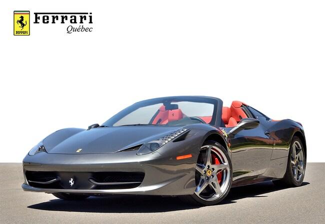 2013 Ferrari 458 Spider Décapotable ou cabriolet