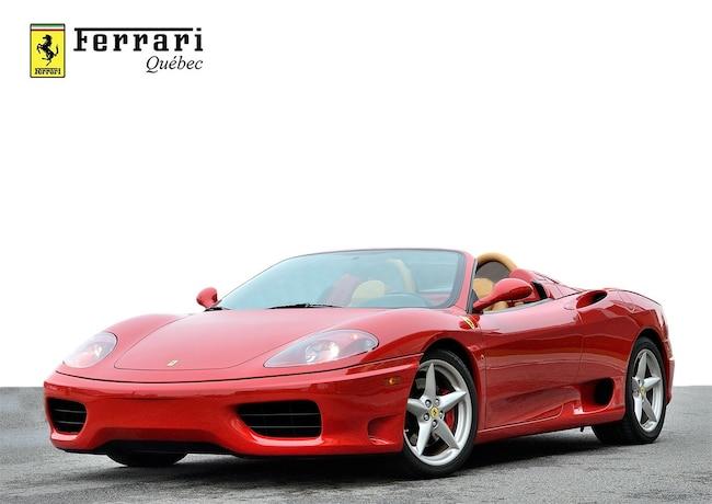 2004 Ferrari 360 Spider Spider F1 Convertible