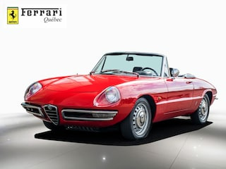 1967 Alfa Romeo Spider DUETTO Boat Tail Décapotable ou cabriolet
