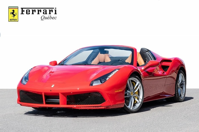 2018 Ferrari 488 Spider GTS Spider Convertible