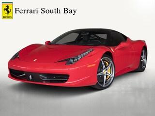 2013 Ferrari 458 Italia Coupe