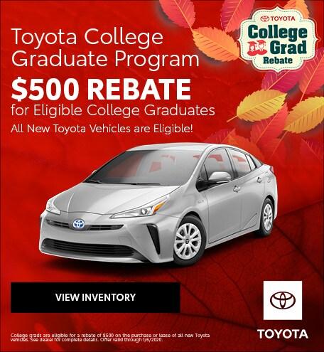 November 2019 Toyota College Grad Program