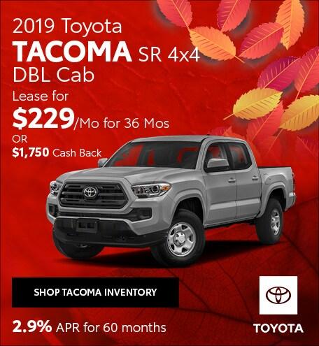November 2019 Toyota Tacoma