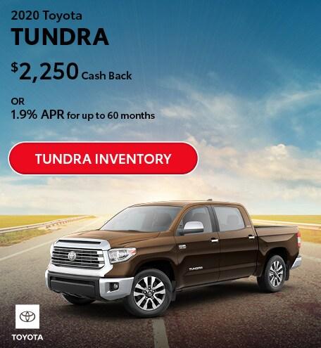 July 2020 Toyota Tundra