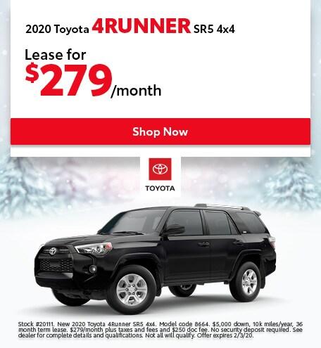 2020 Toyota 4Runner SR5 4x4