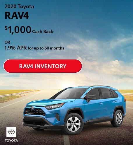 July 2020 Toyota RAV4