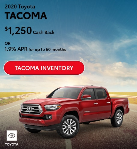 July 2020 Toyota Tacoma