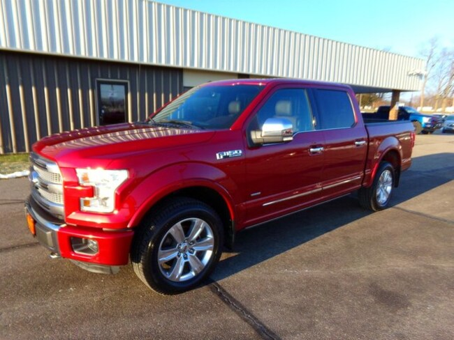 2015 Ford F-150 Platinum Truck SuperCrew Cab