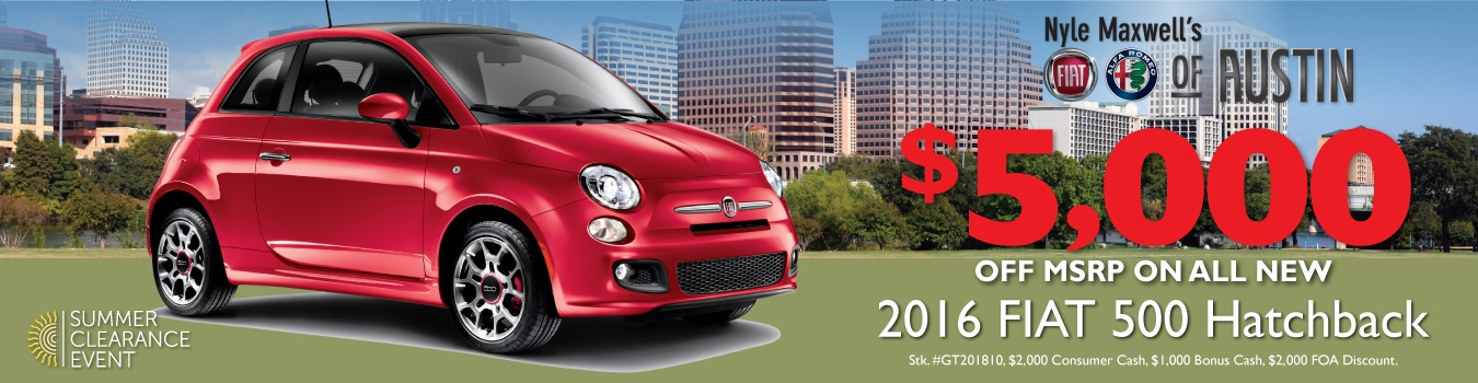 fiat alfa romeo new used cars for sale serving austin tx autos post. Black Bedroom Furniture Sets. Home Design Ideas