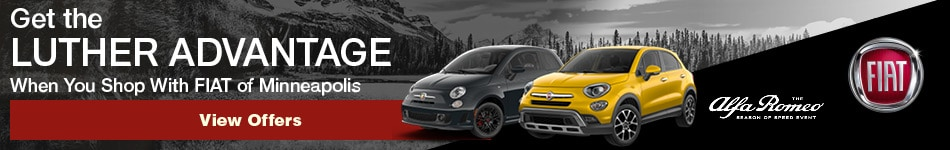 Get the Luther Advantage When You Shop With FIAT of Minneapolis