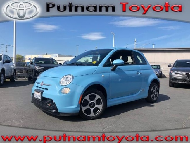 Used 2016 FIAT 500e HB in Burlingame