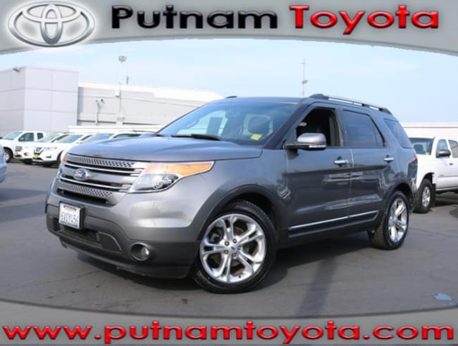 Used 2013 Ford Explorer FWD  Limited SUV in Burlingame