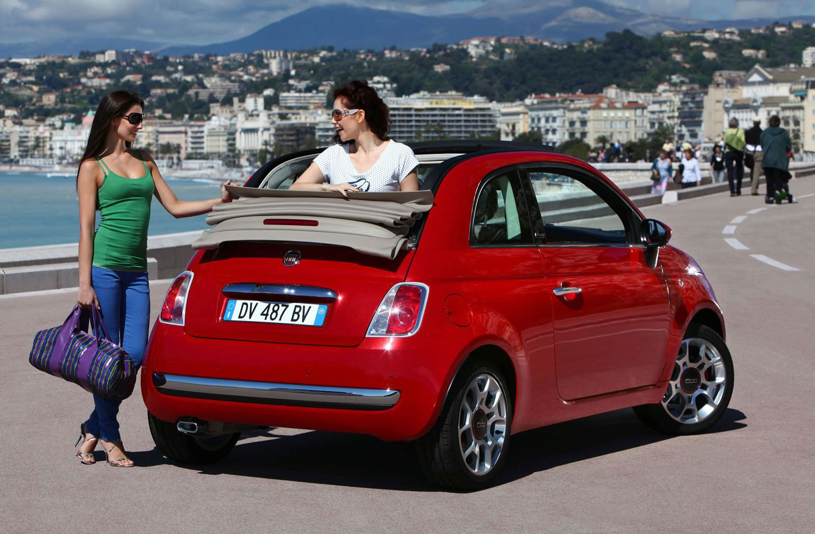 fiat 500 cabrio san francisco. Black Bedroom Furniture Sets. Home Design Ideas