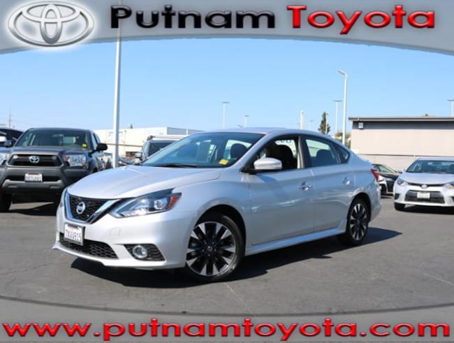 Used 2017 Nissan Sentra SR Turbo CVT in Burlingame