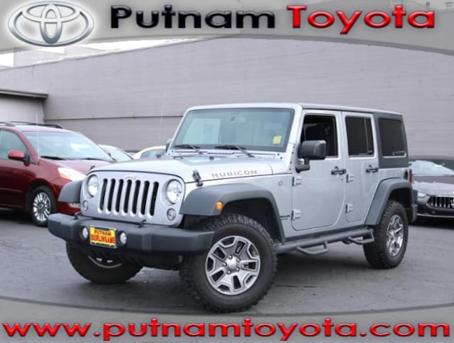Used 2016 Jeep Wrangler Unlimited 4WD  Rubicon SUV in Burlingame